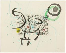 "Joan Miro ""Fissures Plate IX"" 1969 - Signed Etc... - $14,500.00"