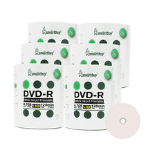 600 Pack Smartbuy 16X DVD-R 4.7GB White Inkjet Hub Printable Blank Record Disc - $103.95