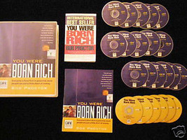 BOB PROCTOR - YOU WERE BORN RICH 6 DVD+15 CD - MSRP $595 - $AVE $300 - B... - $294.53