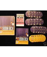 BOB PROCTOR - YOU WERE BORN RICH 6 DVD+15 CD - MSRP $595 - $AVE $300 - B... - $294.53