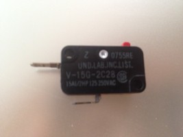 Microwave Oven Normal Close Switch OEM 15A NC V-15G-2C28 - $4.20