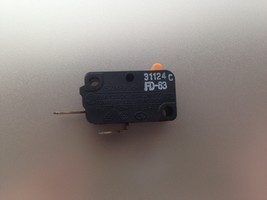 Microwave Oven Normal Close Switch OEM 16A NC SZM-16V-FA-62 - $4.20