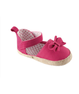 Baby Shoes Girls Bow Espadrille Pink Fashion - $8.99