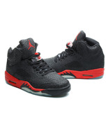 Wholesale Nike Air Jordan Retro 5 Leopard Sport Shoes Basketball Shoes Size 8-13 - $98.99