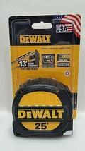"""DeWalt DWHT33975 1-1/4 """" X 25 FOOT Magnetic Hook Tape Measure Life Warranty NEW - $19.99"""