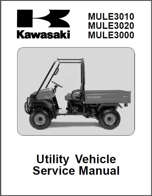 2001 2007 kawasaki mule 3010 3020 3000 utv and 50 similar items rh bonanza com 2005 Kawasaki Mule 3010 Manual Kawasaki Mule 3010 Fuel Pump Relay Location