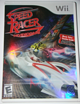 Nintendo Wii - SPEED RACER The VIDEO GAME (Complete with Manual) - $10.00