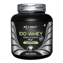 Six Pack Nutrition 100% Whey, 4.4 lb Choco Delight - $129.00