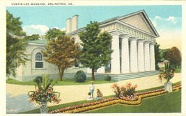 Custis-Lee Mansion, Arlington, VA, 1920s unused Postcard  - $4.25