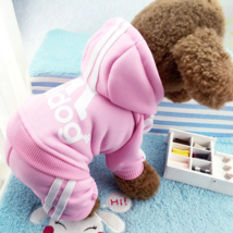 Small Pet Dog Cat Puppy Sweater Hoodie Coat Jacket Warm Costume Apparel New - $9.50