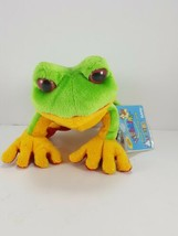 "Ganz Webkinz Tree Frog HS109 Sealed Unused Code Plush Stuffed Animal 8"" ... - $7.91"