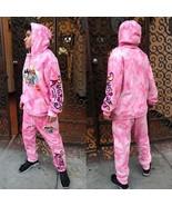 Men's Tie Dye Pink Rugrats Tracksuit  - $97.12+
