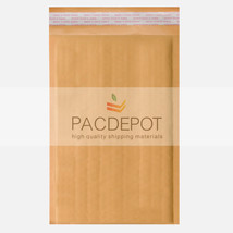 50 #0 6x10 Kraft Bubble  Eco Padded Mailers Lit... - $12.95