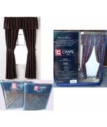 CHAPS RALPH LAUREN-Preston Paisley Window Curtain Panels or Valance-Purp... - $69.27