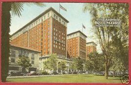 Los Angeles CA Biltmore Hotel Vintage Postcard BJs - $7.00