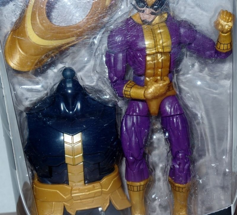 Marvel Legends Infinite Series Batroc Build a Figure 6 Inch Thanos NEW image 2