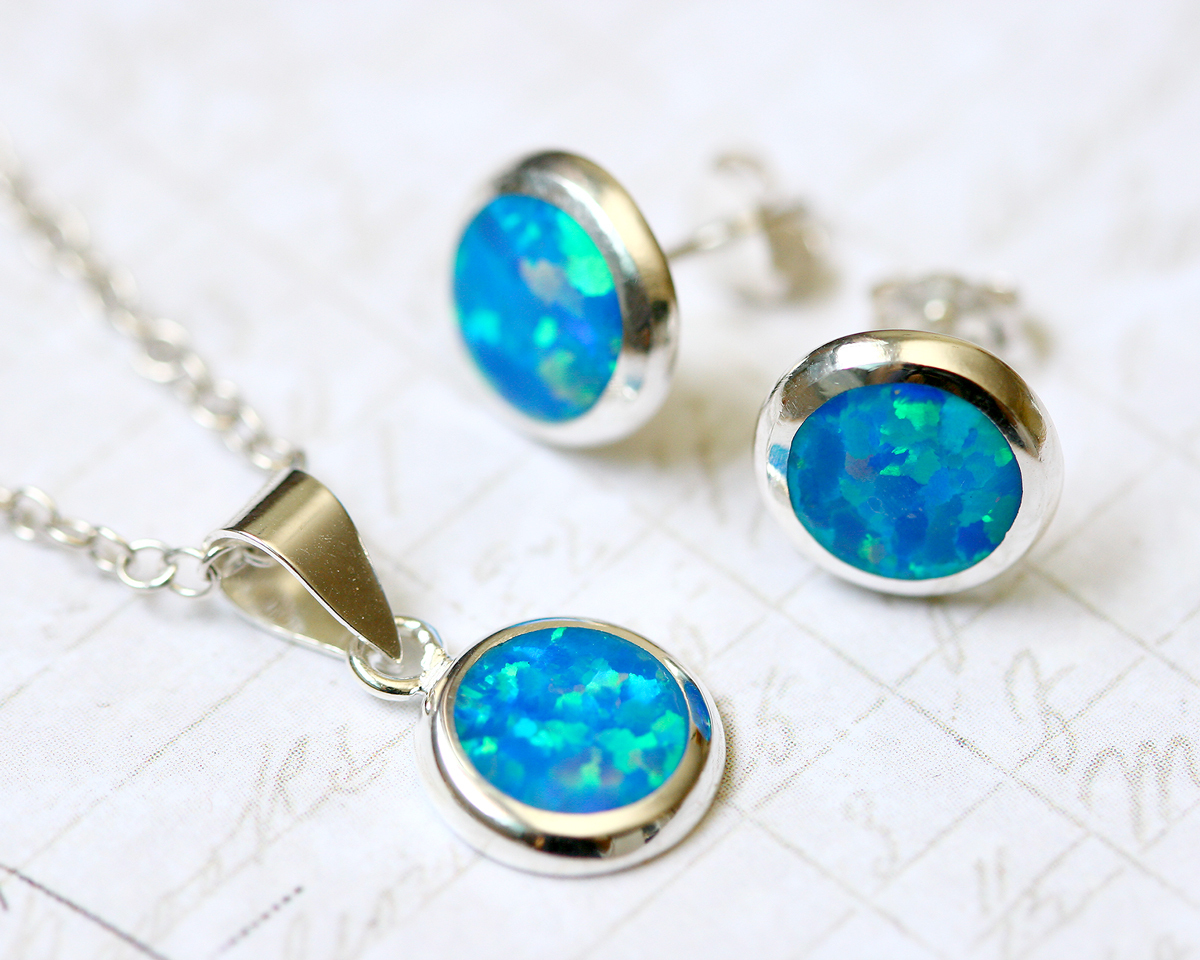 how to set opal in jewelry