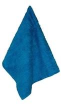"Janey Lynn Designs Blue Jewel  28"" x 19"" Cotton Chenille Shaggie Towel - $8.49"