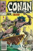 Conan The Barbarian 218 Marvel Comic Book May 1989 - $2.99