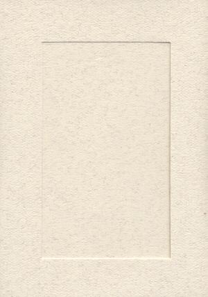 5128 parchment large rect needlework card