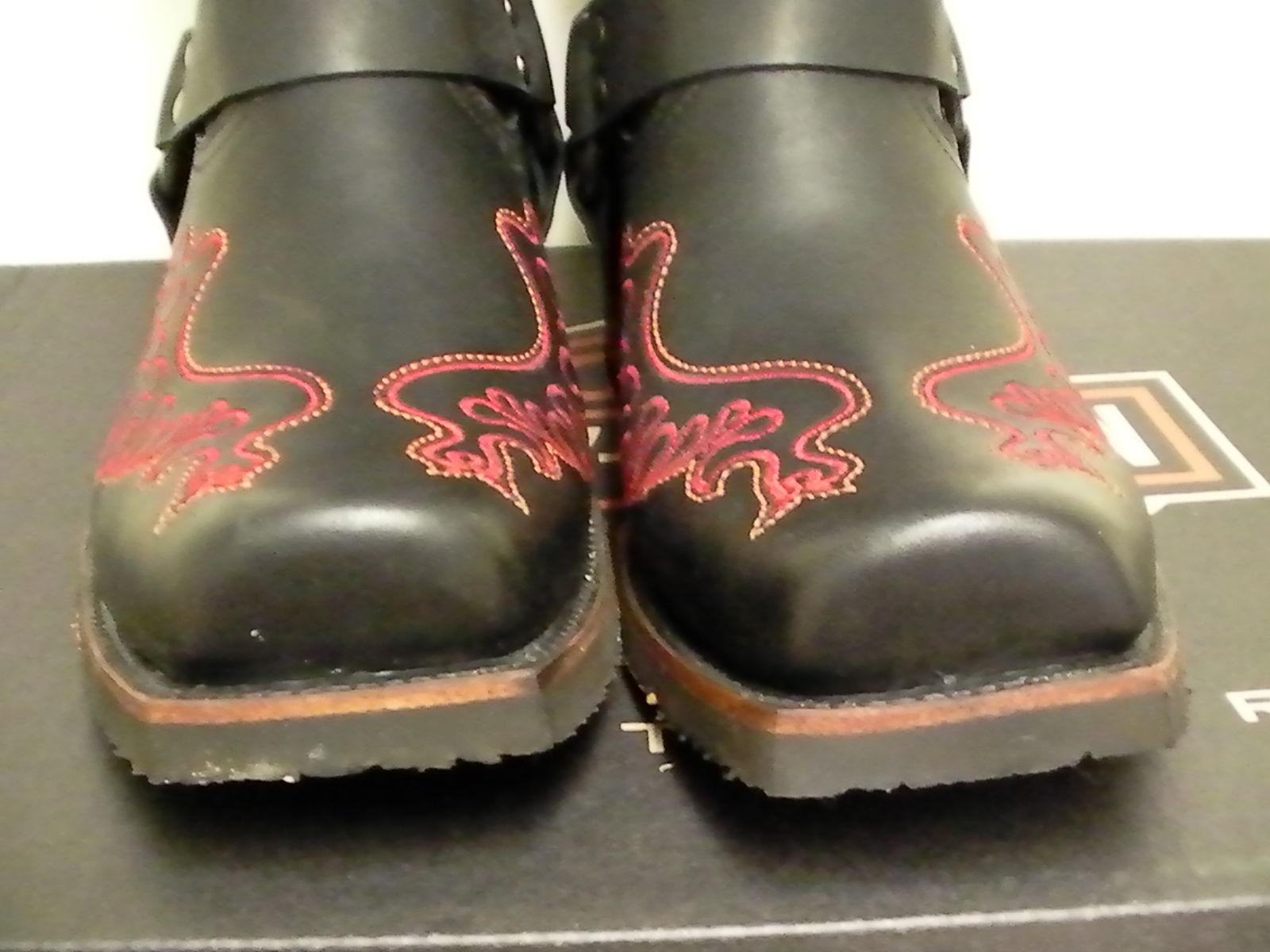 7b2066e6b3f1 Harley davidson boots slayton riding oil resisting size 10 us D 93141 new