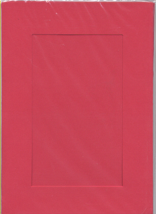 5375 red large rect needlework card