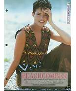 Knitting patterns for Ladies Stunning slipover in DK with a bold pattern... - $2.00