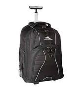 Rolling Backpack Book Computer Bag Wheels Padded Shoulder Straps Durable... - $145.03