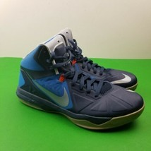 Nike Men's Air Max Body U Mid-height Navy/Wolf Gray Basketball Shoe 5993... - $37.39