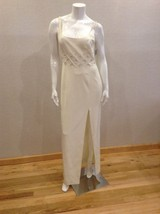 Niteline ivory party prom Pageant Wedding dress size 10 - $44.55