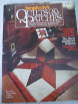 Simplicity's Quilts & Patches Pattern Book - $4.99