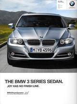 2011 BMW 3-SERIES Sedan brochure catalog US 11 328i 335i xDrive 335d - $8.00