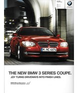 2011 BMW 3-SERIES Coupe brochure catalog US 328i 335i xDrive 335is - $8.00