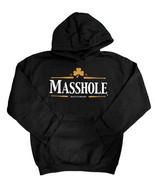 Masshole Guiness Stout Black Unisex Male Female All Ages Vintage Sweatshirt Gift - $32.95