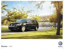 2011 Volkswagen ROUTAN sales brochure catalog US 11 VW SE SEL - $9.00