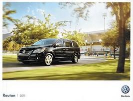 2011 Volkswagen ROUTAN sales brochure catalog 2nd Edition US 11 VW SE SEL - $8.00