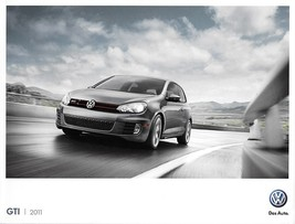 2011 Volkswagen GTI sales brochure catalog US 11 VW 2.0T - $9.00