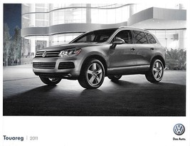 2011 Volkswagen TOUAREG brochure catalog US 11 VR6 HYBRID Lux Executive VW - $9.00