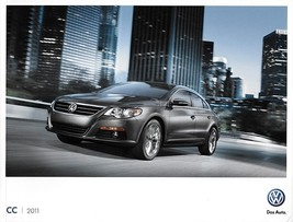 2011 Volkswagen CC brochure catalog US 11 VW 2.0T Lux VR6 4MOTION - $9.00
