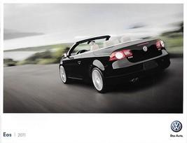 2011 Volkswagen EOS sales brochure catalog US 11 VW 2.0T Komfort Lux - $9.00