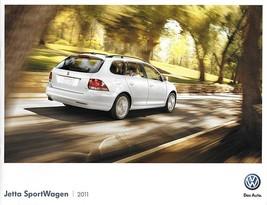 2011 Volkswagen JETTA SPORTWAGEN sales brochure catalog US 11 VW TDI wagon - $8.00