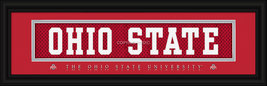 Ohio State University Officially Licensed Stitched Jersey Framed Print - $33.96