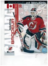 Martin Brodeur IB New Jersey Devils Vintage 8X10 Color Hockey Memorabilia Photo - $6.99