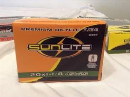"""Sunlite BICYCLE BIKE TUBE  20"""" x 1 1/8"""" KENDA PRESTA VALVE NEW 6397 - €3,51 EUR"""