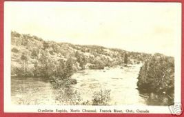 French River Ontario Postcard North Channel RPPC BJs - $10.00