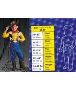 WOODY TOY STORY CHILDS COSTUME 3T-4T - $45.00