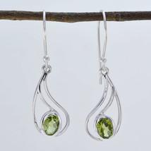 fascinating Peridot 925 Sterling Silver Green genuine gemstone CA gift - $11.05