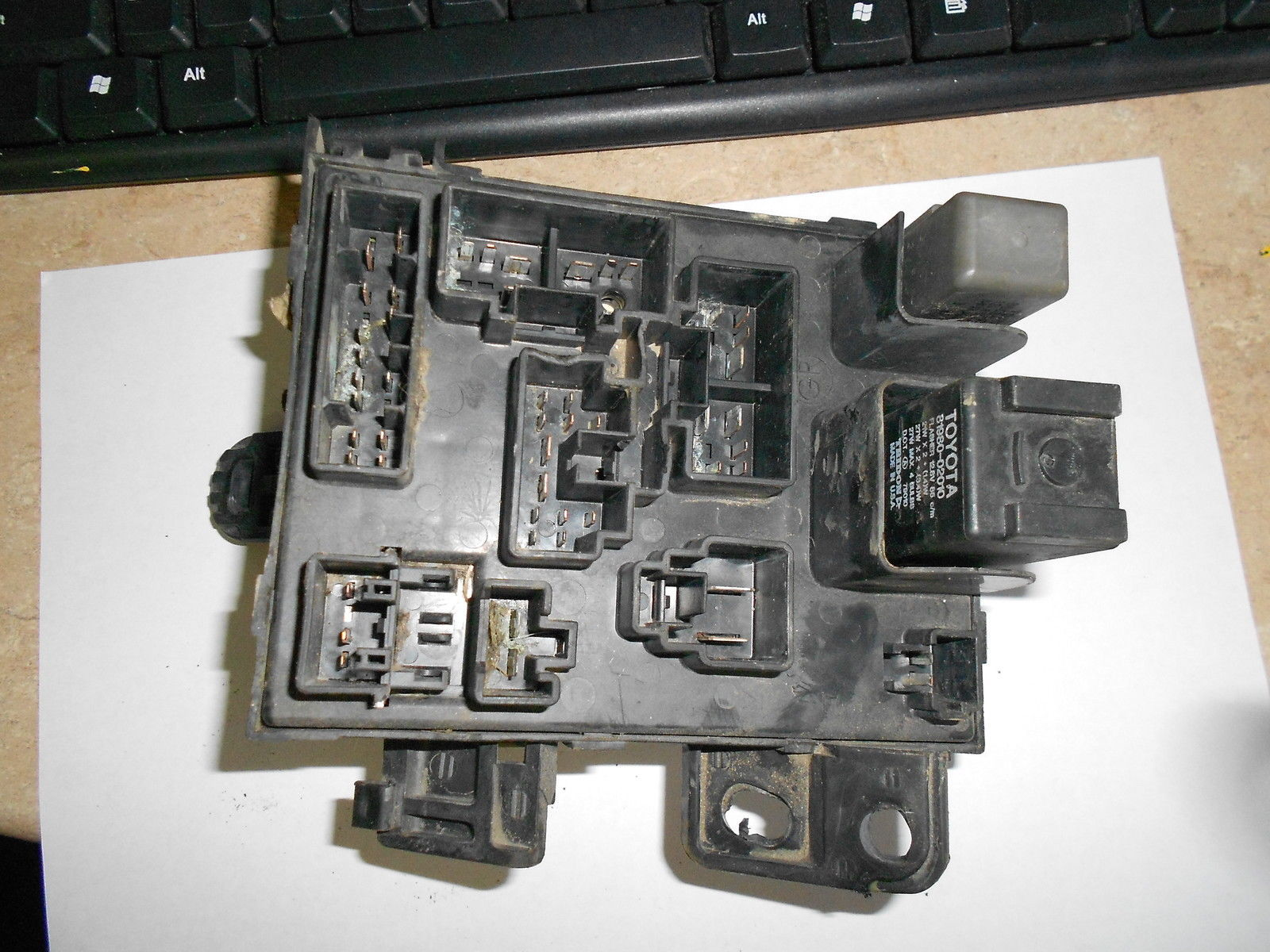 1997 Toyota Tacoma 2 7 Fuse Box With Integration Relay