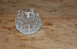 Vintage Kosta Boda Sweden Art Glass Votive Polar Votive Candle Holder - $25.00