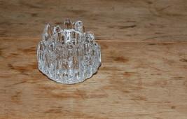 Vintage Kosta Boda Sweden Art Glass Votive Polar Votive Candle Holder - $25.00